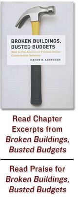 Broken Buildings, Busted Budgets Book Cover